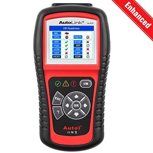 Autel Autolink AL519 OBD2 Escáner Lector EOBD Herramientas Coche Diagnostico de Vehículos Portátil