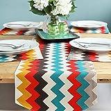 Tableau Corrugated Rayé Coloré Bruant Serviette De Tapis Table Basse Lit Jardin Gland,Colorstripe,30 * 180CM