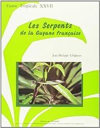 Les Serpents de la Guyane française