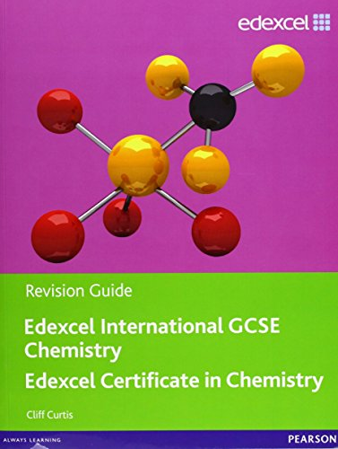 Edexcel IGCSE Chemistry Revision Guide with Student CD (Edexcel International GCSE) by Cliff Curtis (24-Feb-2011) Paperback