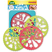 Lena 65775 - Mandala Designer, marco con 4 Plantilla
