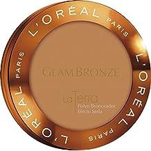 L'Oréal Paris Glam Bronze Polvo Bronceador, Tono: La Terra 04 Taormina - 95 g