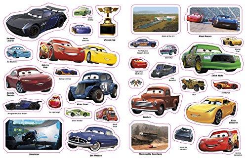 Image of Ultimate Sticker Book: Disney Pixar Cars 3 (Ultimate Sticker Books)