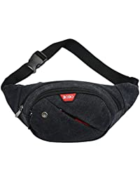 Generic Retro Unisex Canvas Waist Fanny Pack Travel Bag- Parent