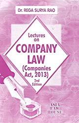 Lectures on Company Law (Companies Act, 2013)
