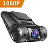 Vikcam Telecamera per Auto WiFi Dash Cam 1080P Full HD Videocamera Veicoli Registratore Visione Notturna, 170 Gradi, Registrazione di Emergenza, G-Sensor ,Rilevatore di Movimento, Registrazione in loop e 2,45' Schermo LCD (Nero)