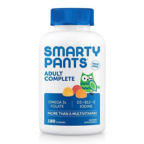 Besserwisser Erwachsene Gummy Vitamine: Multivitamin-& Omega 3DHA/EPA Fischöl, methyl B12, Vitamin D3, 180Count (30Day Supply) (D Vitamin Gummies)