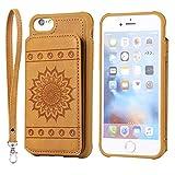 DENDICO Coque iPhone 6 Plus / 6s Plus, Ultra Fine Housse en Cuir pour Apple iPhone 6...