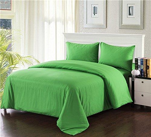 Tache Home Fashion 3-4PCOM-W/Zip-Green-CK Schmusetuch 4-teilig, California King, grün Casual Full grün