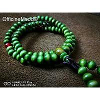 braccialetto Mālā Buddista - verde lime