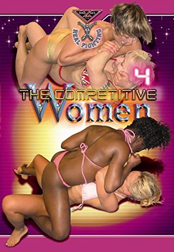 Real Fighting - THE COMPETITIVE WOMEN 4 DVD (Competitive wrestling) Amazon's Prod