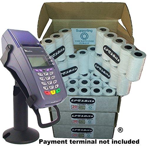 eposbits® Marke Medium Größe Rolls to Fit Verifone VX510vx-510VX 510Kreditkarte Terminal?60Rollen?3Boxen (Chip & Pin) Vx-terminal