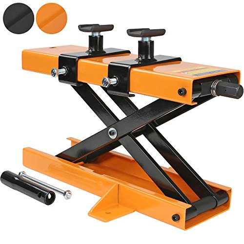 TIMBERTECH Elevador de motos | carga máx 450 kg, en Color Naranja...