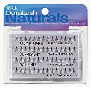 Ardell Eyelashes Duralash Naturals Knot Free - Combo Pack