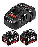 Bosch GBA18806SET 2 x GBA 18v 6.0 Ah + 1 x GAL 1880 CV charger 1600A00B8M