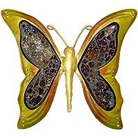 In ferro battuto a forma di farfalla,