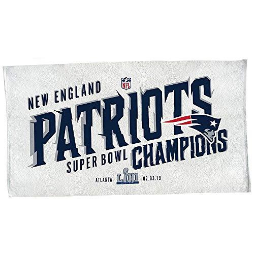 Wincraft New England Patriots Super Bowl LIII Champions Locker Room NFL Handtuch - Bowl-fanartikel Patriots Super