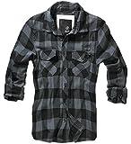 Brandit Herren Hemd Flanell Check Shirt Zannysbox Edition