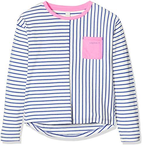 Esprit Kids Mädchen Langarmshirt Long Sleeve Tee-Shirt, Blau (Jewel 426), 104/110
