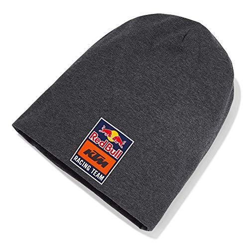 Red Bull KTM New Era Long Berretto, Grigio Unisex Taglia Unica Beanie, KTM Factory Racing Abbigliamento & Merchandising Uff