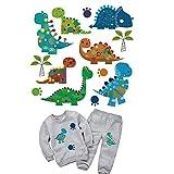 farmer-W Transferpapier Zum Aufbügeln, DIY Waschbar Verschleißfest Tier Muster Cartoon Wärmeübertragung Thermotransfer Tuch Aufkleber für Baby Kinder T-Shirt