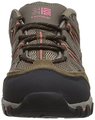 Karrimor Supa Iii Low Ladies, Chaussures de Randonnée Basses Femme Marron (brown (brn))