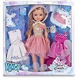 Nancy - 3 Vestidos de cuento con muñeca (Famosa 700013110)