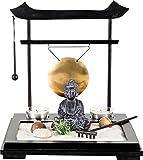 PAJOMA 44349 Buddha Zengarten Luan Tou, Kunststoff, Maße: L 26 x B 26 x H 26 cm