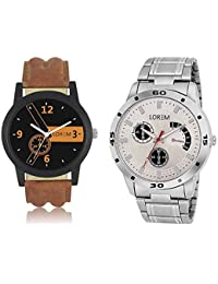 Style Keepers LR-01-101 Analogue Watch For Boy (Pack Of 2 Watch)