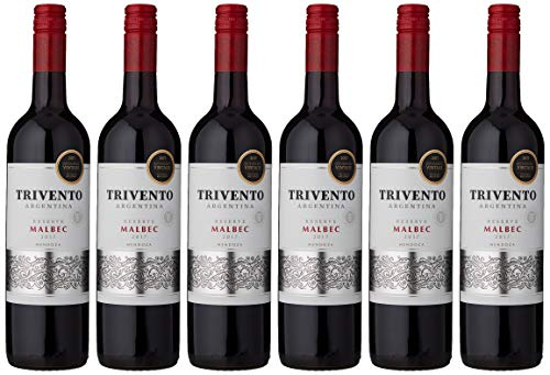 Trivento Reserve Malbec 2017 Wine, 75 cl (Case of 6)