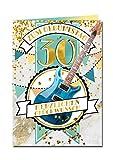 bentino XXL Glückwuschkarte mit Musik'30er Geburtstag' | Geburtstagskarte mit Sound | Grußkarte mit Umschlag A4 | Interaktive Klappkarte mit Melodie | Karte mit Gitarrenspiel-Funktion und Soundeffekt