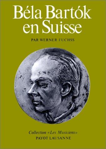 Béla Bartók en Suisse
