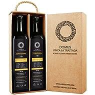 Domus Finca La Trastada Aceite de Oliva Virgen Extra, Variedad Cornicabra - Paquete de 2 x 500 ml - Total: 1000 ml