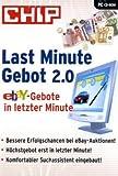 Last Minute Gebot 2.0, CD-ROM ebay-Gebote in letzter Minute. Für Windows 9x/Me/NT/2000/XP