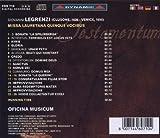 Testamentum - Missa Laurentana Q