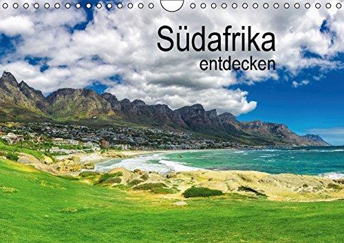 Südafrika entdecken (Wandkalender 2016 DIN A4 quer): Südafrika rund um Kapstadt und das Westkap (Monatskalender, 14 Seiten)