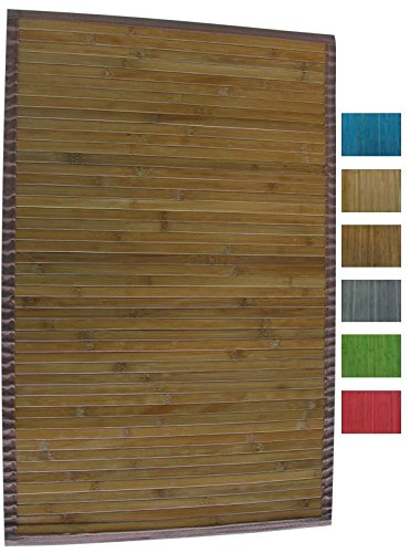 MSV 140529 - Alfombra de bambú 90 x 60 x 0