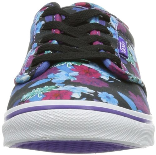 Vans W ATWOOD LOW (FLOWER) PURPLE, Sneaker donna Viola (Flower)