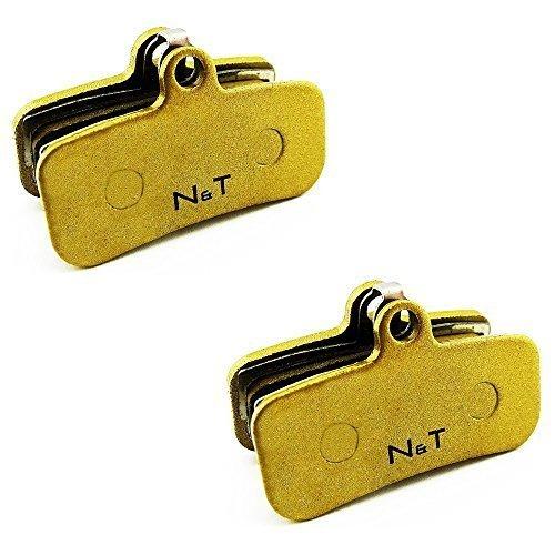 2x Noah and Theo nt-bp018/SI sinterizzato Pastiglia freno per Shimano ZEE BR-M640, saint br-m810 E SAINT br-m820. Anche Compatibile con cuscinetti MODELLI H01A,H03C,D01S E D02S
