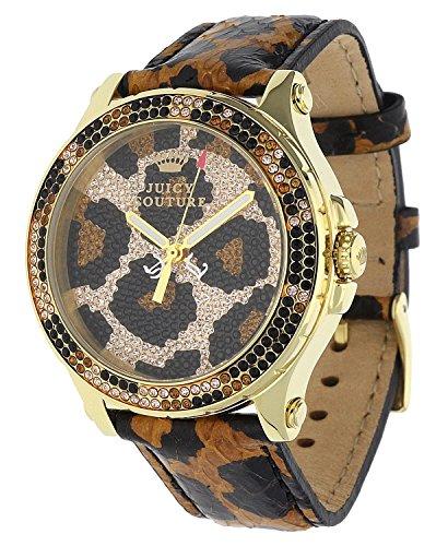 Juicy Couture Damas Reloj Negro 1901070