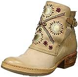 A.S.98 Damen Haiti Cowboy Stiefel, Beige (Grano/Grano/Grano/Argento), 38 EU