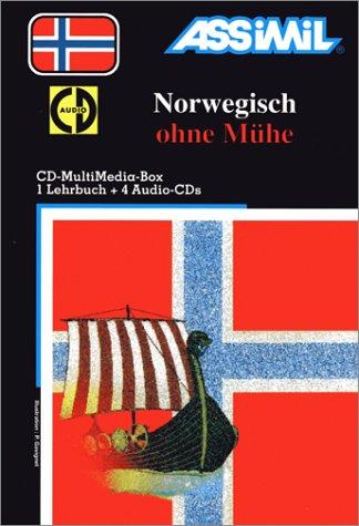 Norwegisch ohne Mühe (1 livre + coffret de 4 CD) (en allemand)