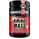 AMINO MASS, Dose 500 Tabletten à 1400 mg, die Nummer 1 an Aminosäuren zum aufbau von Muskelmasse, weltweit höchste biologische Wertigkeit von 136 (Proteinqualität)