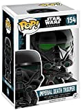 Funko 10465 POP Bobble: Star Wars: Rogue One: Imperial Death Trooper Chrome (Exc), Standard