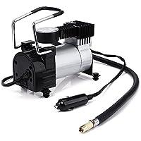 Minicompresor de aire eléctrico, ideal como inflador para el coche, 12 V CC,