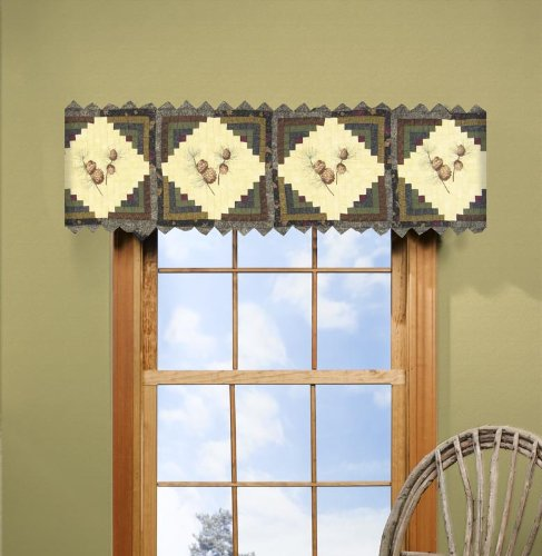 donna-sharp-barn-raising-pine-cone-hand-quilted-valance-or-runner