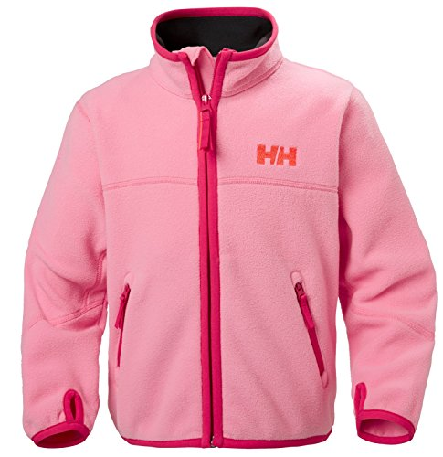 Helly Hansen, Felpa in pile Bambino Pink Carnation
