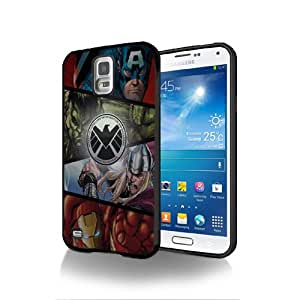 The Avengers 1–2Film AV08Schutzhülle schwarz Silikon für Samsung Galaxy S2@ UTMSHOP