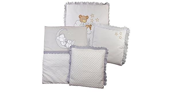Bettdecke kopfkissen set details zu baby bettdecke kissen für