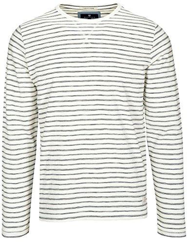Basefield Herren Rundhals Shirt - Offwhite (219011562) 101 OFFWHITE